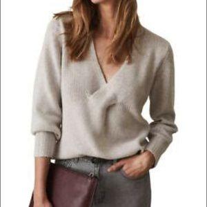 Reiss Kat wool blend sweater - small